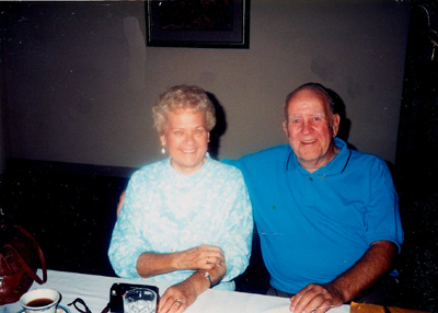 Gus and Edith at Reunion in 1989